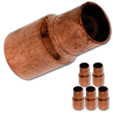 "3/4"" ID X 1/2"" ID COPPER REDUCER - 5/PK"
