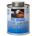 WET N' DRY PVC BLUE CEMENT - PINT