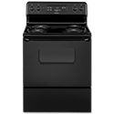 "HOTPOINT® 30"" ELECTRIC RANGE WITH OVEN WINDOW - BLACK"