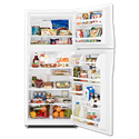 WHIRLPOOL® ENERGY STAR® 18 CU FT REFRIGERATOR - WHITE