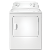 WHIRLPOOL® 7 CU FT ELECTRIC DRYER - WHITE