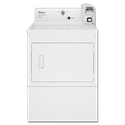WHIRLPOOL® LARGE CAPACITY COMMERCIAL ELECTRIC DRYER, COIN OPERATED - WHITE