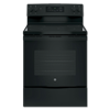 "GE® 30"" CERAMIC GLASS TOP ELECTRIC RANGE - BLACK"