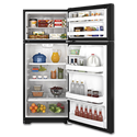 GE® ENERGY STAR® 17.5 CU FT REFRIGERATOR - BLACK