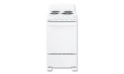 "HOTPOINT® 20"" SPACESAVER ELECTRIC RANGE - WHITE"