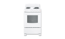 "HOTPOINT® 24"" SPACESAVER ELECTRIC RANGE - WHITE"