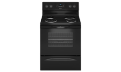 "WHIRLPOOL® 30"" SELF-CLEAN RANGE - BLACK"
