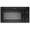 WHIRLPOOL® 1.7 CU FT OVER-THE-RANGE MICROWAVE - BLACK