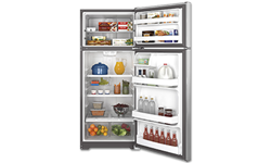GE® 17.5 CU FT REFRIGERATOR - STAINLESS STEEL