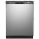 "GE® ENERGY STAR® 5 CYCLE 24"" DISHWASHER - STAINLESS STEEL"
