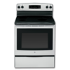 "GE® 30"" CERAMIC GLASS TOP ELECTRIC RANGE - STAINLESS STEEL"