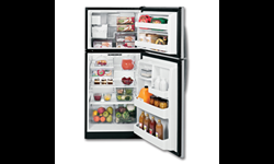GE® ENERGY STAR® 17.5 CU FT REFRIGERATOR WITH ICE MAKER - STAINLESS STEEL