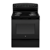 "GE® 30"" SELF-CLEAN ELECTRIC RANGE - BLACK"