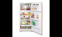 GE® ENERGY STAR® 16.6 CU FT REFRIGERATOR - BISQUE