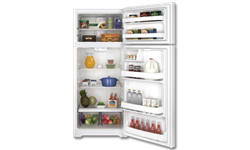 GE® ENERGY STAR® 17.5 CU FT REFRIGERATOR - WHITE