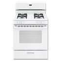"HOTPOINT® 30"" GAS RANGE, ELECTRONIC IGNITION - WHITE"