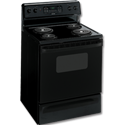 "HOTPOINT® 30"" ELECTRIC SELF-CLEAN RANGE - BLACK"