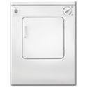 "WHIRLPOOL® 24"" COMPACT FRONT LOAD DRYER - WHITE"