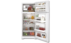 GE® ENERGY STAR® 17.5 CU FT REFRIGERATOR WITH ICE MAKER - WHITE