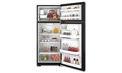 GE® ENERGY STAR® 17.5 CU FT REFRIGERATOR WITH ICE MAKER - BLACK