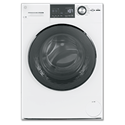 "GE® 24"" COMPACT FRONT LOAD WASHER - WHITE"