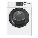 "GE® 24"" COMPACT FRONT LOAD DRYER - WHITE"