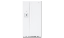 GE® ENERGY STAR® 23.2 CU FT SIDE BY SIDE REFRIGERATOR - WHITE