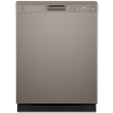 GE® ENERGY STAR® DISHWASHER WITH FRONT CONTROLS - SLATE