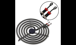 "6"" UNIVERSAL PLUG-IN BURNER ELEMENT - 4-TURN"