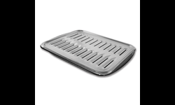 PORCELAIN BROILER PAN WITH RACK