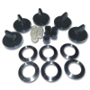 GAS STOVE BLACK KNOB KIT