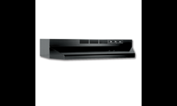"BROAN® 30"" DUCTLESS RANGEHOOD - BLACK"