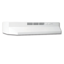 "BROAN® 24"" DUCTLESS RANGEHOOD - WHITE"