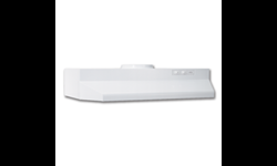 "BROAN® 30"" ROUND DUCTED RANGEHOOD - WHITE"