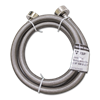4' STAINLESS STEEL WASHING MACHINE HOSE