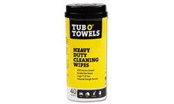 TUB O'TOWELS HEAVY DUTY HAND CLEANING TOWELS 40/CT