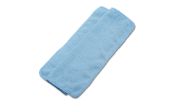 BLUE MICROFIBER CLEANING CLOTHS 16X16 - 24/PK