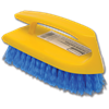 SCRUB BRUSH WITH BOAT HANDLE