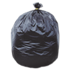 60 GALLON HEAVY DUTY TRASH BAGS - 38X58 BLACK 1.75 MIL 100/BX