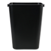 9 GALLON OFFICE TRASH CAN - WHITE