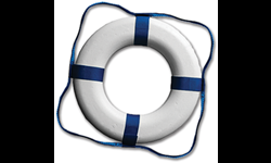 "20"" PLASTIC RING BUOY"