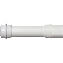 ADJUSTABLE SHOWER ROD - WHITE