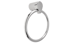 MOEN EDGESTONE TOWEL RING HOLDER- CHROME