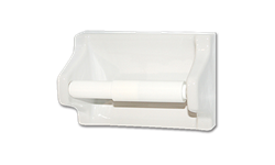 CERAMIC TOILET TISSUE HOLDER CLIP-ON