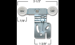 "2-WHEEL HANGER 1/2"" OFFSET"