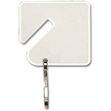 SQUARE KEY TAGS - 20/PK