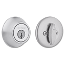 KWIKSET SINGLE CYLINDER DEADBOLT - SATIN CHROME