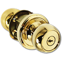 WESLOCK ENTRY LOCK - POLISHED BRASS