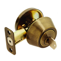 MAXWELL SINGLE CYLINDER DEADBOLT - ANTIQUE BRASS