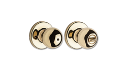 KWIKSET POLO PRIVACY - POLISHED BRASS